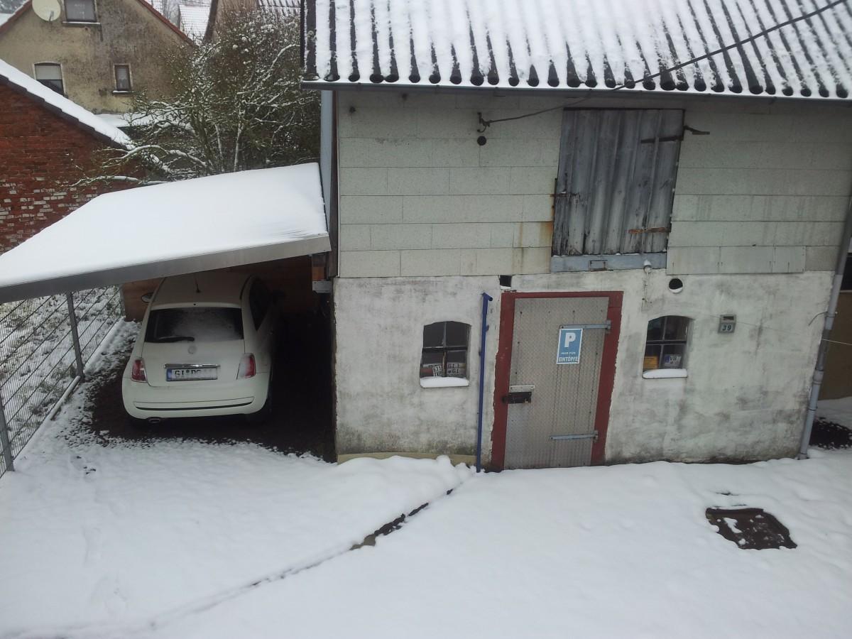 Es riecht nach Schnee