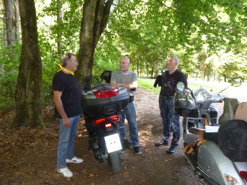 Rollerreise durch den Thüringer Wald