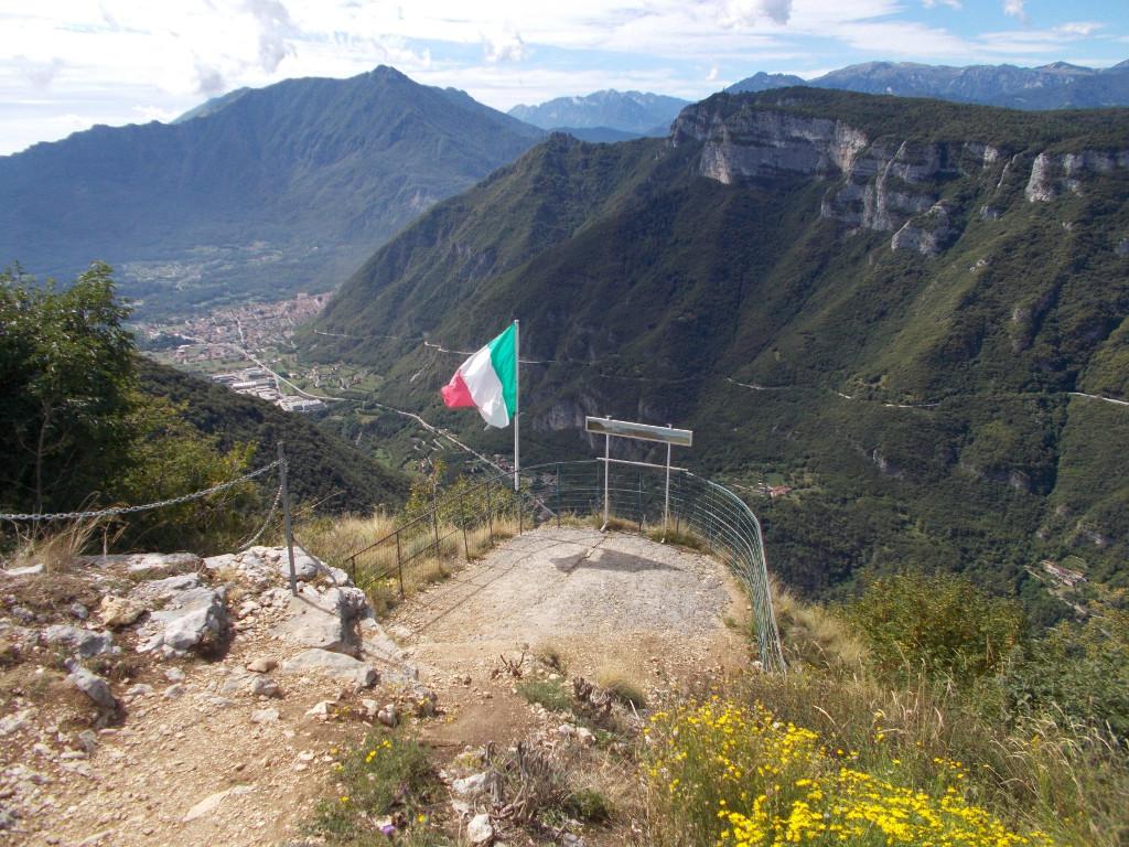 Blick auf den Monte Cimone