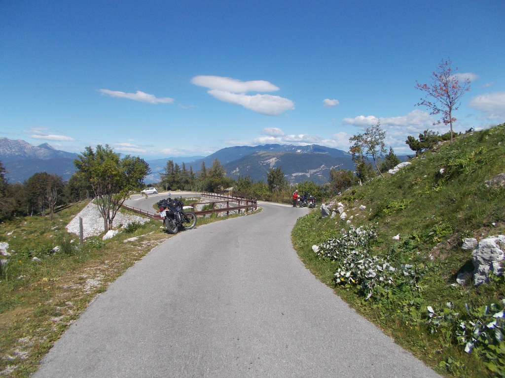 Blick zum Adamello-Gletscher, 3500m