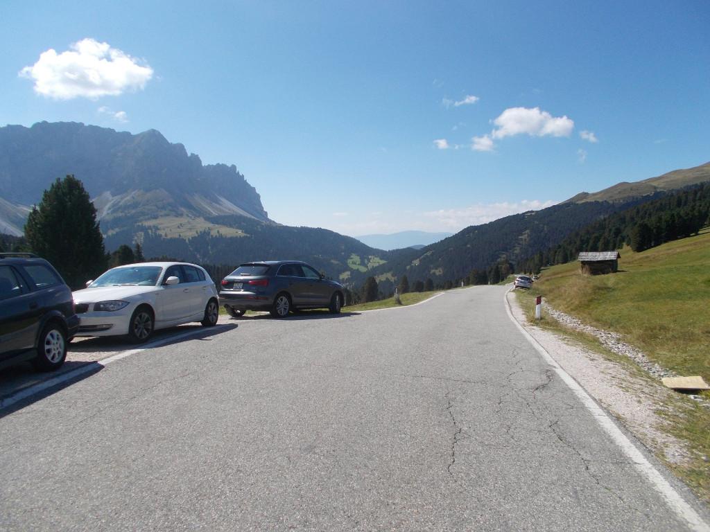 Abfahrt vom Würzjoch nach Brixen