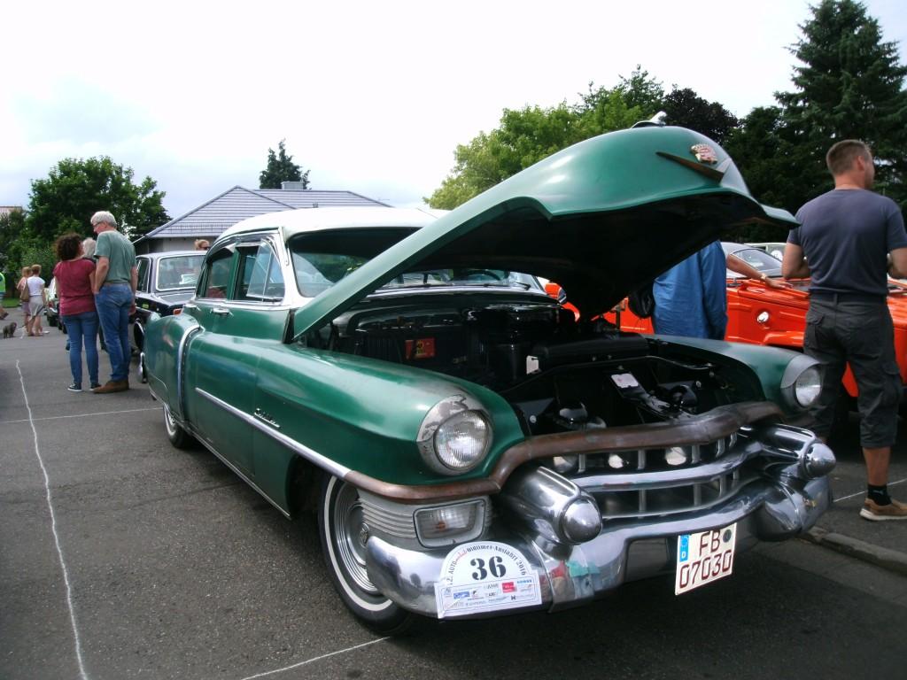 Cadillac, unrestauriert, ein Traum