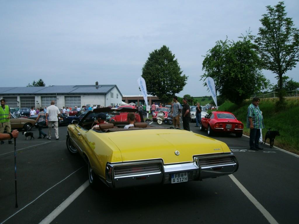 Rangieren mit dem Buick Cabrio