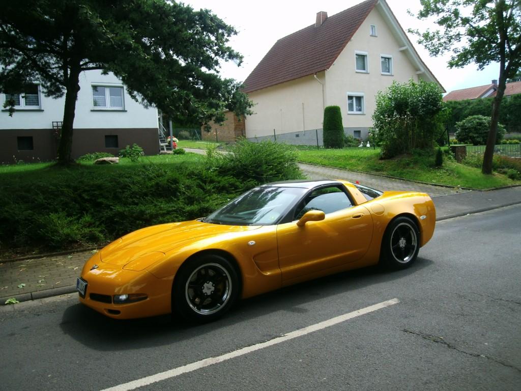 Ich liebe Ami-Schlitten: Corvette