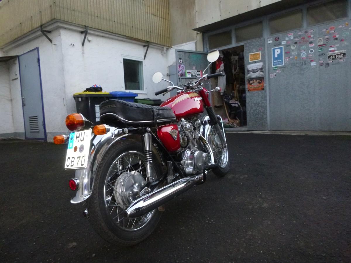 1970er Honda CB450