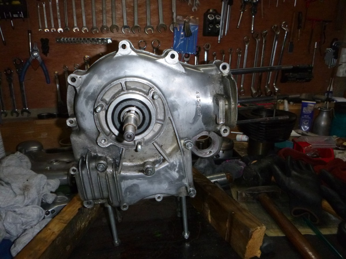 Überholung Enfield Bullet 500 Motor
