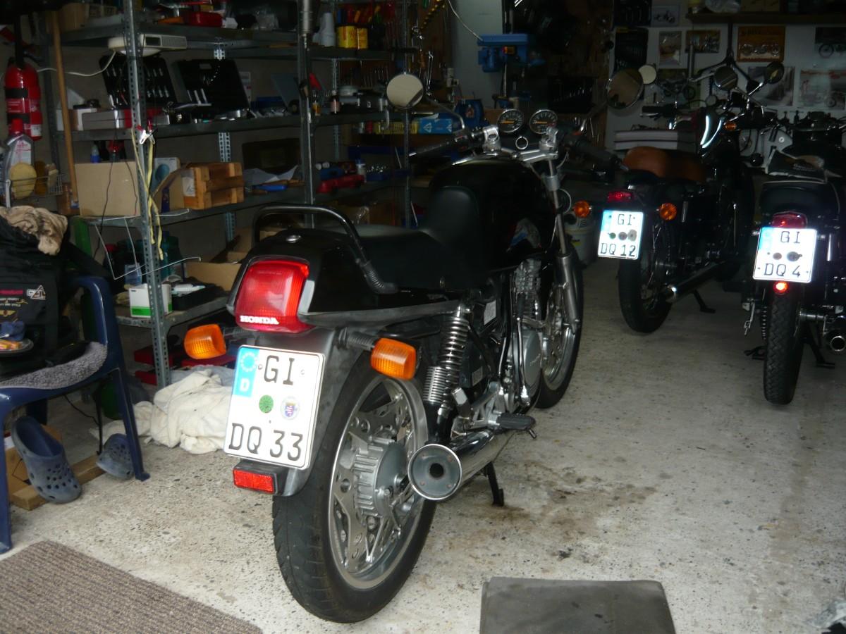 1987er Honda XBR 500