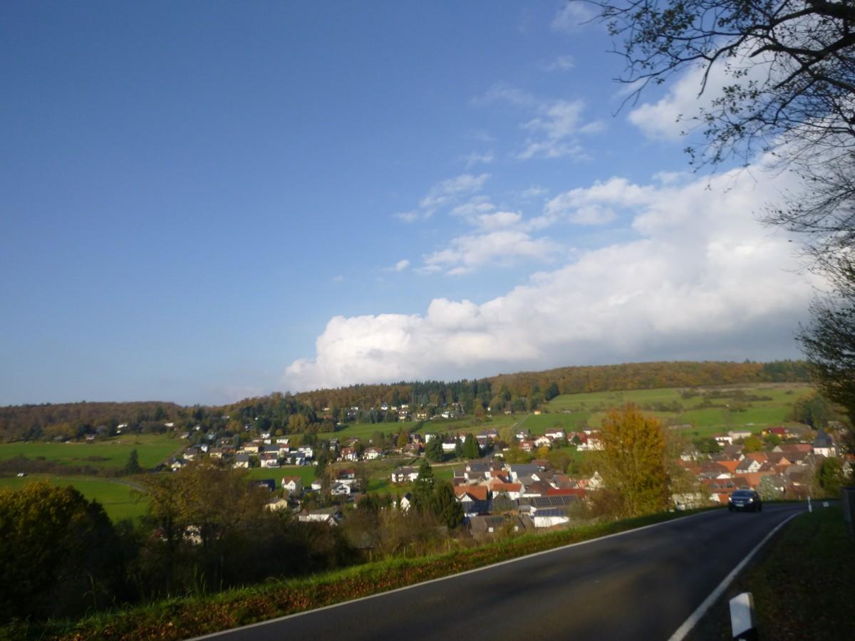 Panoramablick Einartshausen