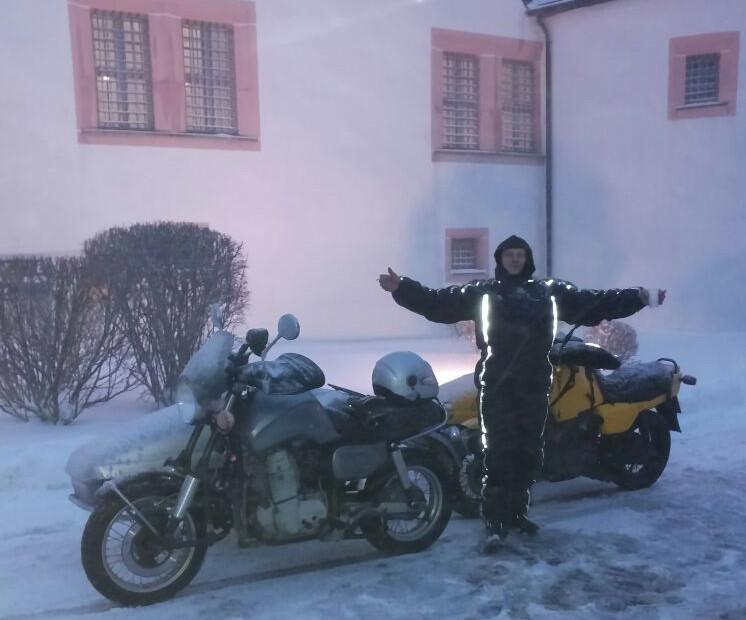 Michaela auf der Augustusburg