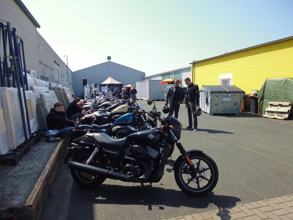 Harley on Tour