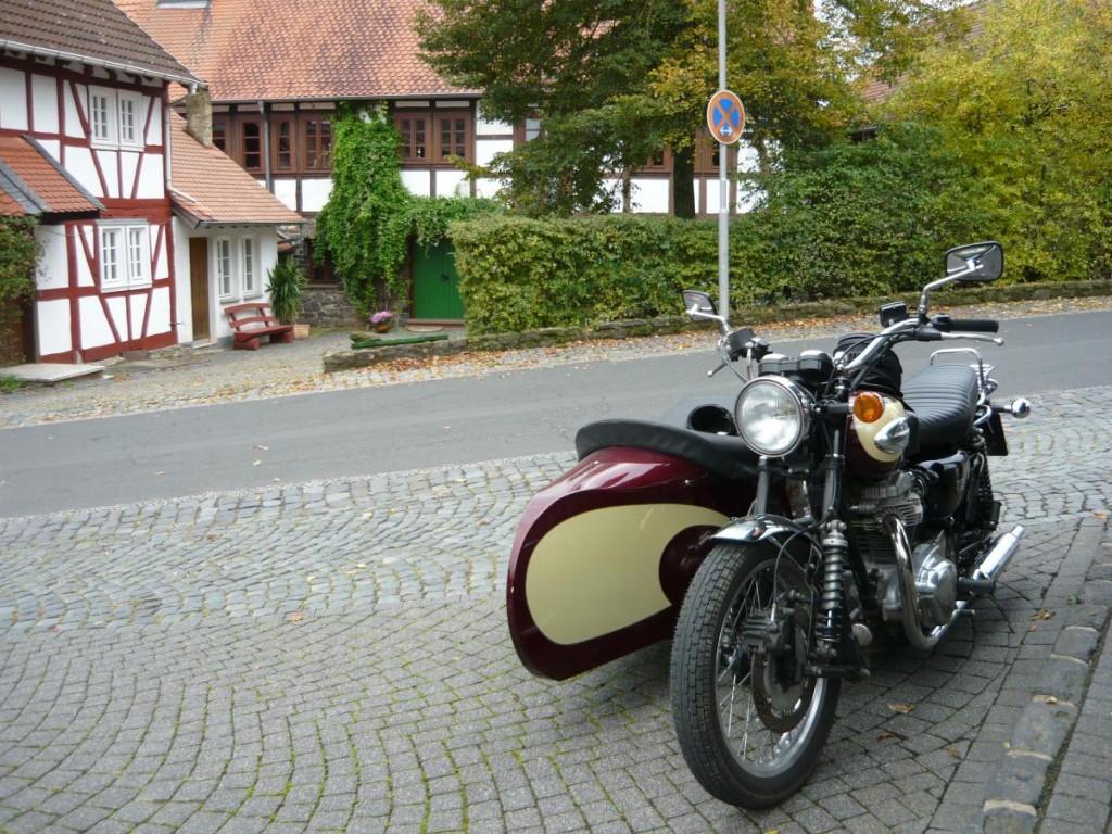 W650 Gespann