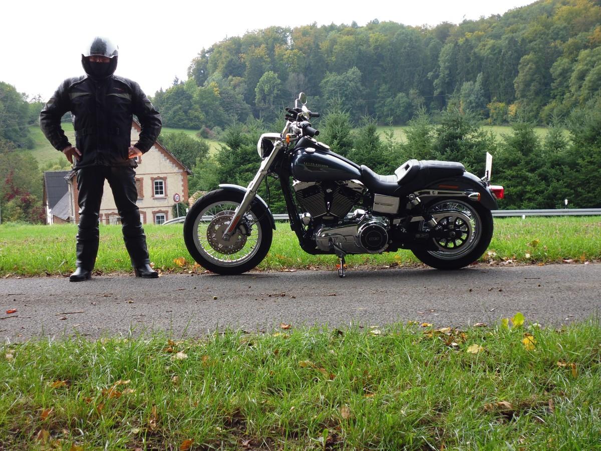 Probefahrt mit der Low Rider