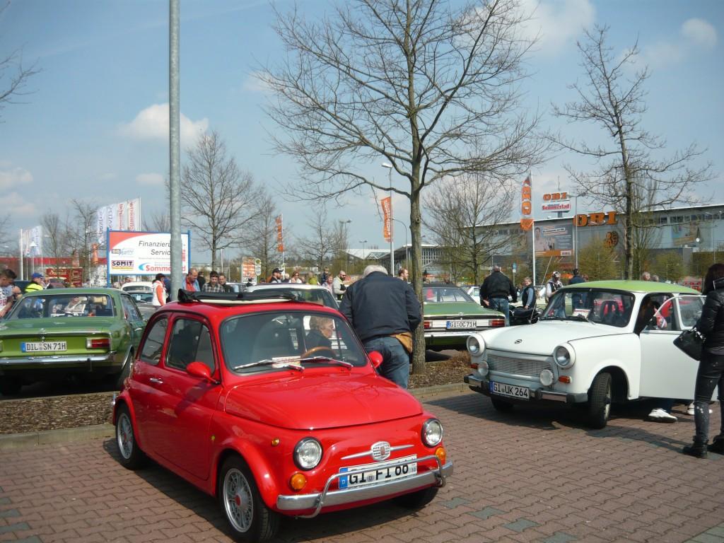 Das wärs: Fiat 500, der Echte.