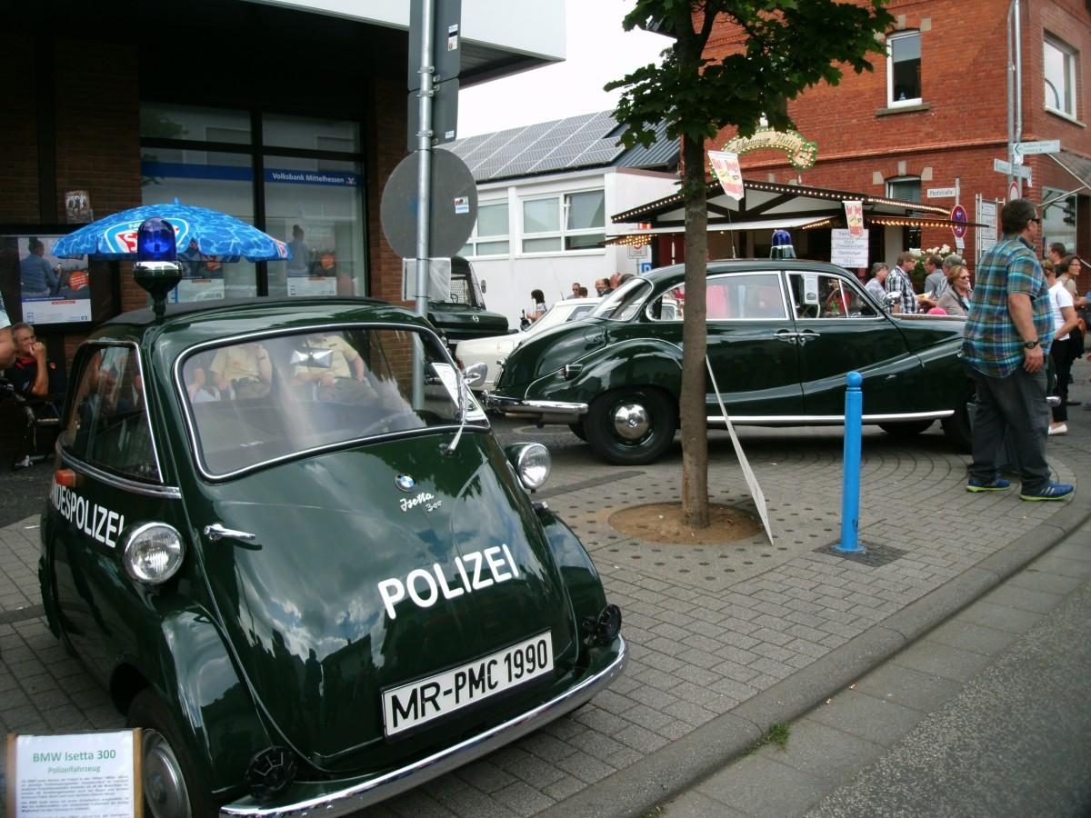 Die Polizei fuhr BMW: Isetta und V8