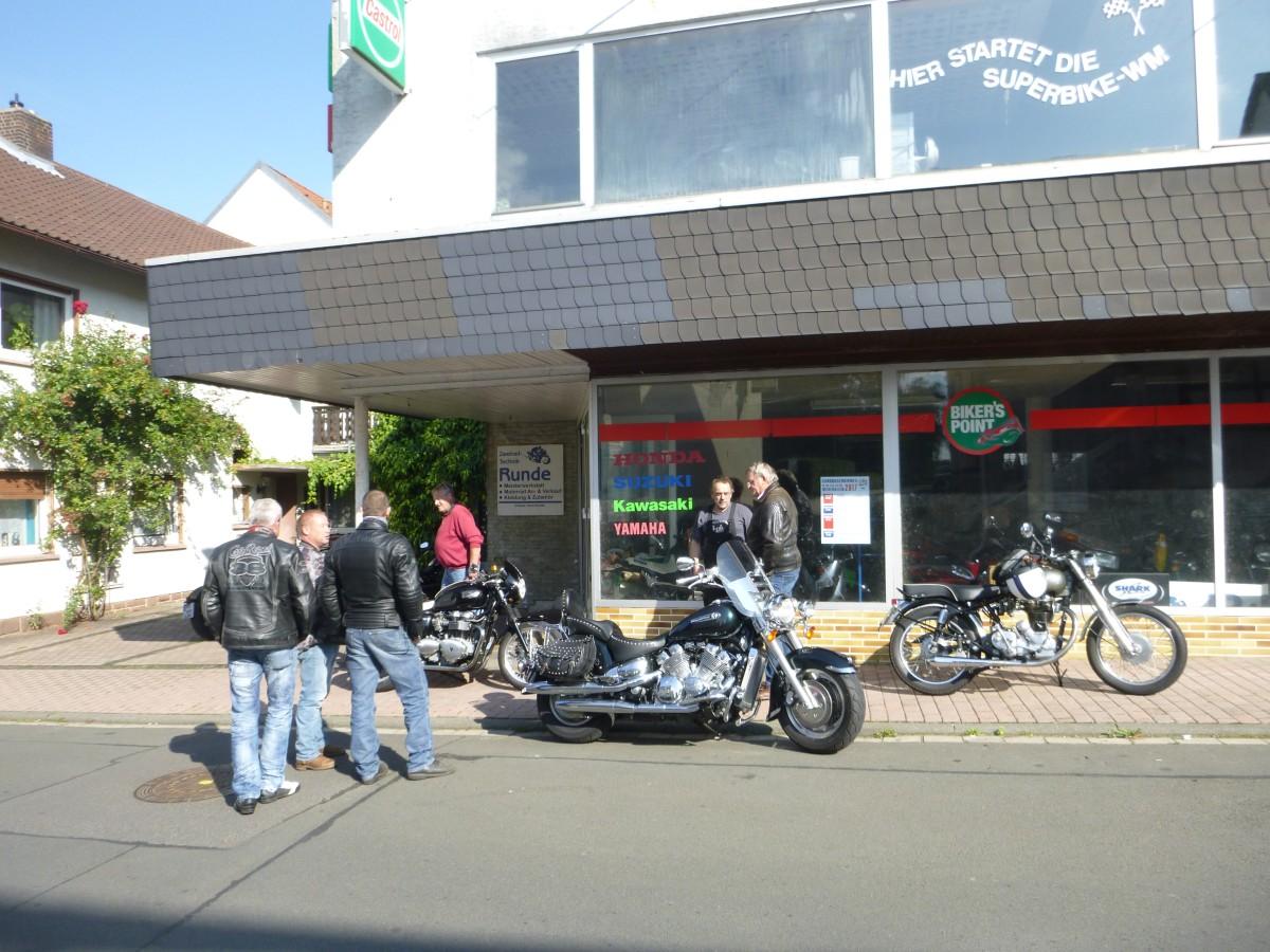 Motorrad Runde