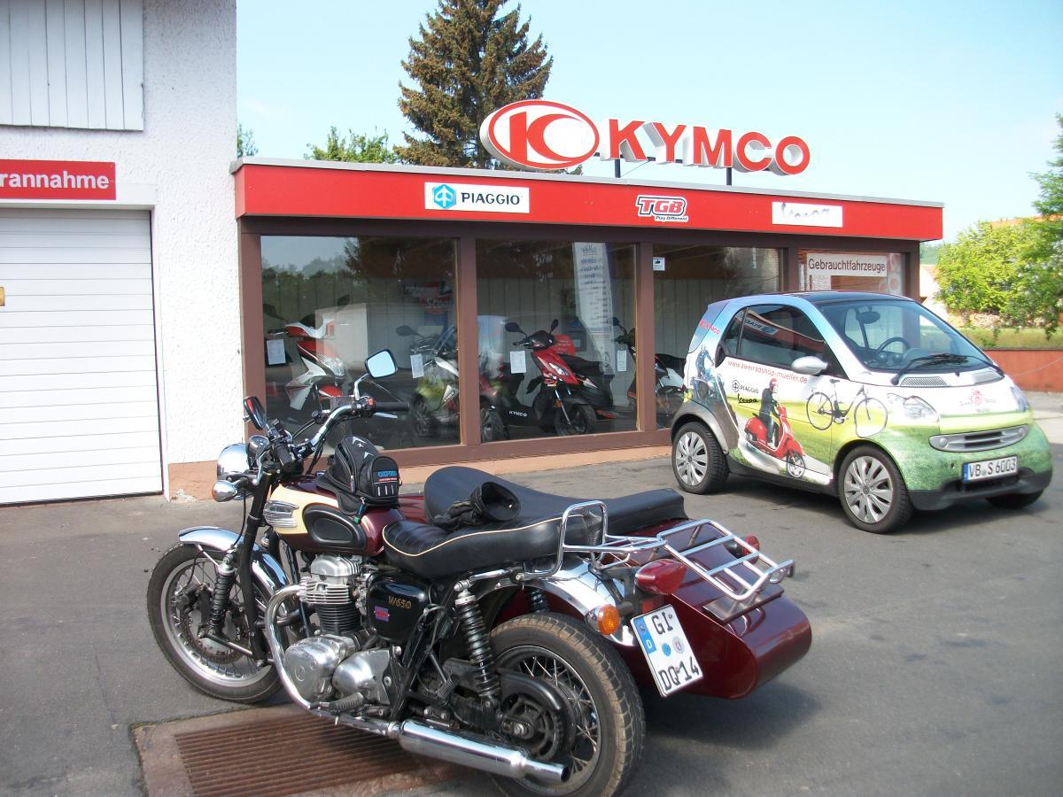 Kawasaki W650 Gespann