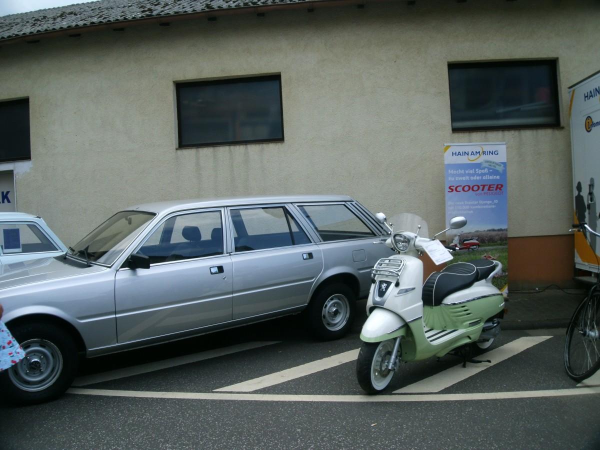 Kein Oldie, aber Retro: Peugeot Django